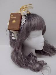 book headband sweet mildred miniature book headband