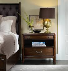 16 Nightstand Hooker Furniture Bedroom Palisade Two Drawer Nightstand 5183 90116