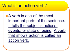 action verbs lj 10 19 15 what is an action verb a verb is