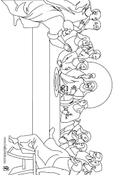 the last supper coloring page easter activities for kids