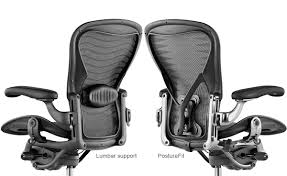Chairs For Posture Support Classic Aeron Chair Hivemodern Com