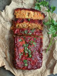 almost classic chickpea vegan meatloaf foodie