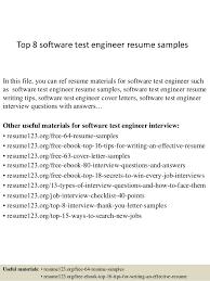 resume formatting software top 8 software test engineer resume sles 1 638 jpg cb 1428673404