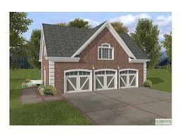 Garage Loft Plans Garage Loft Plans 3 Car Garage Loft Plan With Brick Façade