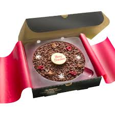 christmas chocolate christmas chocolate pizza festive snowflakes and happy christmas