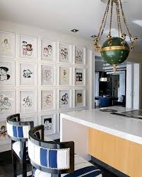 blue bar stools kitchen furniture white and blue bar stools eclectic dining room nuevo estilo