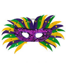 mardi gras masks feather masks mardigrasoutlet