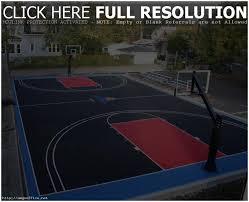 backyards outstanding diy backyard basketball court diy outdoor