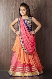 73 best kids lehanga images on pinterest kids wear indian