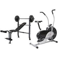 lifemax dual action fan bike fingerhut lifemax home gym value bundle with dual action exercise
