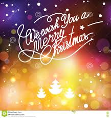 vector template lettering merry christmas