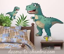 deco chambre dinosaure decoration dinosaure déco chambre enfant thème dinosaure stickers