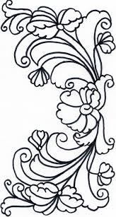 rosmaling coloring pages rosemaling pattern programming and child