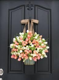 30 wreaths easter door decorations ideas