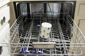 what s the best way to clean white kitchen cabinets how to clean a dishwasher with vinegar hgtv