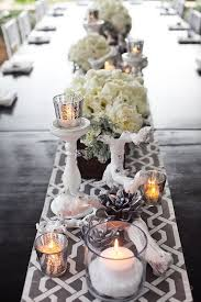Grey Chevron Table Runner Table Setting Archives One To Wed