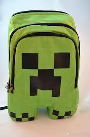 minecraft game my world children backpacks kids for boys gril