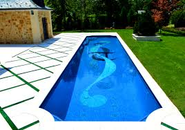 charming swimming pool design ideas come with violin shape