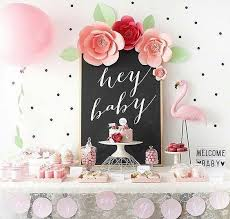 girl baby shower fly baby shower themes for
