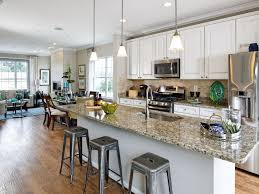 ballard floor plan in red oak crossing calatlantic homes kitchen