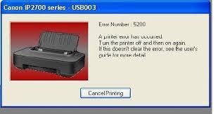 reset canon ip2770 blinking resetter printer printer canon ip2770 error 5200