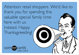 attention retail shoppers we d like to thank you for spending