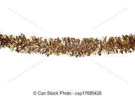 christmas tinsel gold christmas tinsel border cutout stock photo search pictures