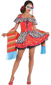 Sugar Skull Halloween Costumes Create Women U0027s Sugar Skull Costume Accessories Party