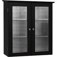 Glass Door Cabinet Walmart Torino Wall Cabinet With Glass Doors Espresso Walmart