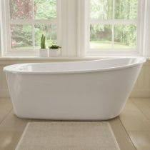 Bathtubs At Menards Maax Sax Freestanding 60