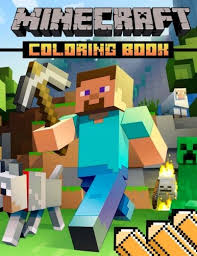 pdf minecraft coloring book activity book minecrafters
