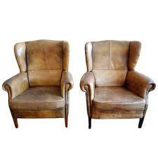 Vintage Brown Leather Armchair Vintage U0026 Used Club Chairs Chairish