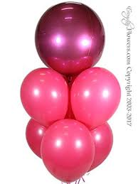 next day balloon delivery pink balloon bouquet same day balloon delivery orange county ca