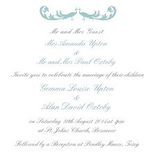 wedding invitation copy wedding invitation wording parents vertabox com