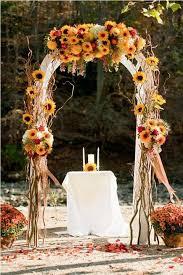 arch for wedding 27 fall wedding arches that will make you say i do decor advisor