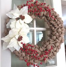 christmas burlap wreaths 15 amazing christmas wreath ideas page 6 of 16