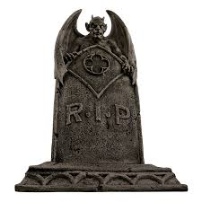 gravestones for halloween amazon com the vampire demon tombstone statue graveyard