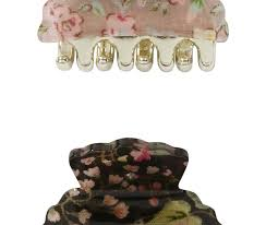 primark hair accessories an attractive and economical 2 pack floral print claw hair
