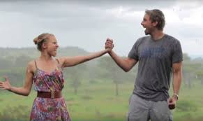Dax Shepard Kristen Bell And Dax Shepard Turn Their Africa Trip Into A Toto