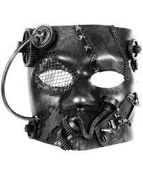bauta mask steunk bauta mask silver for horror shop