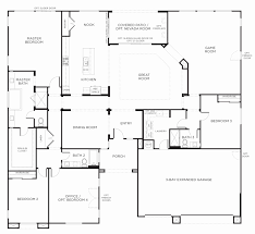 house drawings plans one story house plans with finished basement awesome house