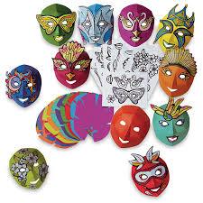 mardigras masks roylco mardi gras masks class pack blick materials