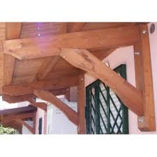 montaggio tettoia in legno mensola per pensilina tettoia aranova legno system e commerce