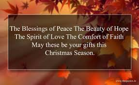 spirit of christmas quotes blessings peace beauty hope love
