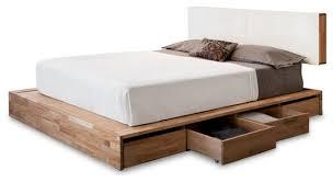 Platform Bed Headboard Platform Bed Storage For Attractive Trendy Lax Series Storage