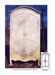 Painted Armoire Furniture Hand Painted Armoires Pieces Furniture