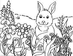 free spring coloring pages color book idea 265 unknown