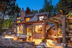 aspen log cabin colorado greater aspen villas pinterest