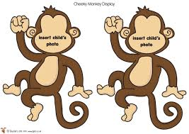 Monkey Classroom Decorations 10 Best Images Of Free Monkey Printable Decorations Monkey