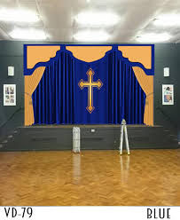 Church Curtains Curtains For Church Stage Pulpit Altar Drapery Styles